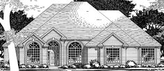 Eplans European House Plan - Four Bedroom European - 3126 Square Feet and 4 Bedrooms from Eplans - House Plan Code HWEPL74034