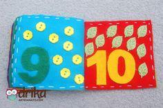 Livro de Feltro Passo a Passo: Aprenda Como Fazer Essa Linda Peça! Felt Quiet Books, Book Quilt, Felt Toys, Baby Boy, Snoopy, Quilts, Montessori, Circus Crafts, Toddler Arts And Crafts