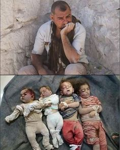Syrian father loses wife and 4 children as a result of today's Russia airstrikes on Idlib, Syria. Syrian Children, Save The Children, Syria Before And After, Casualties Of War, What The World, Bad News, Dear God, Religion, My Heart Is Breaking