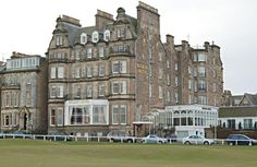 Worked there when I was fifteen! Used to make the teas and coffees! Places In Scotland, Scotland Travel, St Andrews Hotel, Great Hotel, Most Beautiful Cities, Teas, Edinburgh, Castles, Places Ive Been