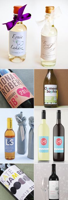 25 Creative Wine Labels---- remember to make wine for my future weeding, give as gifts to weeding attendants