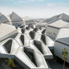 The 10 Must-See Buildings Designed by Zaha Hadid - You can find this incredible architecture in the Saudi Arabian desert - Parametric Architecture, Concept Architecture, Futuristic Architecture, Classical Architecture, Facade Architecture, Ancient Architecture, Sustainable Architecture, Amazing Architecture, Contemporary Architecture