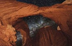 Image result for Arches National Park Milky Way