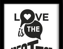 Love is the greatest thing by Alessandro Carraretto, via Behance