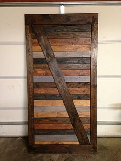 Vintage sliding Barn Door Custom made to fit your by GoodfromWood, $250.00