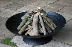 Esschert FF44 - Horno de jardín (bajo), color negro: Amazon.es: Bricolaje y herramientas