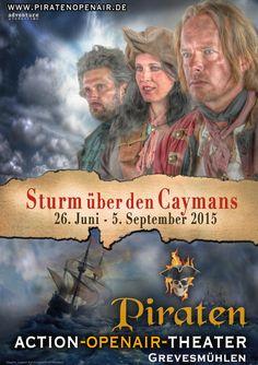 """Sturm über den Caymans"" Das Piraten-Openair"
