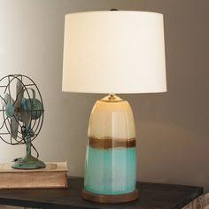 Strata Art Glass Pendant Light | Turquoise,Teal & Aqua ...