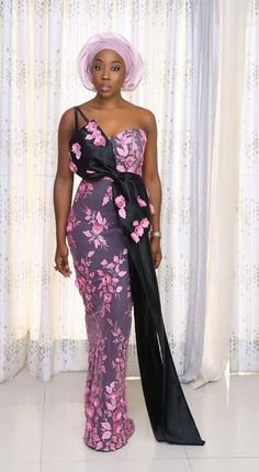 2019 Latest Beautiful Asoebi Styles for Events Nigerian Lace Dress, Nigerian Lace Styles, Aso Ebi Lace Styles, Lace Gown Styles, African Lace Styles, African Lace Dresses, Ankara Gown Styles, African Clothes, African Wedding Attire