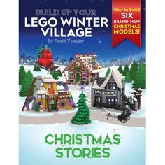 Lego Christmas Village, Lego Winter Village, Christmas Town, Christmas Villages, Christmas Books, A Christmas Story, Holiday, Winter Scenes, Book Club Books
