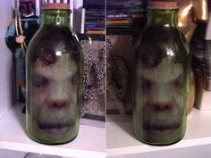 Head in a Jar!  Easy instructions how to.