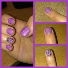 Cheetha nail design steps 12/5/12