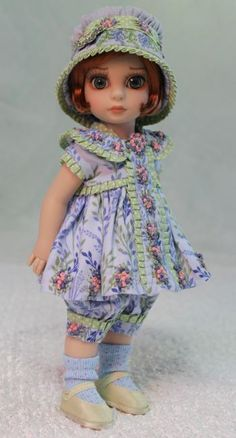 MHD Designs - Dimanche - Fashion Pattern for 10 Inch Patsy and Ann Estelle
