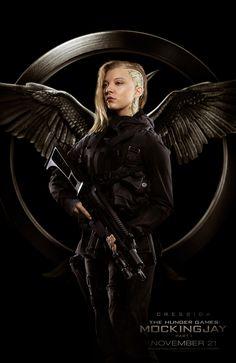 "Rebel fighter ""Cressida"" (Natalie Dormer) from The Hunger Games: Mockingjay - Part 1 is my new spirit animal"