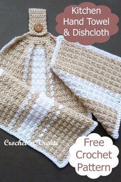 Crochet Towel, Easy Crochet, Free Crochet, Knit Crochet, Crochet Cushions, Crochet Pillow, Blanket Crochet, Crochet Patterns For Beginners, Knitting Patterns