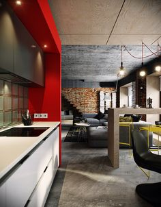 Le loft Bunker à Moscou - PLANETE DECO a homes world