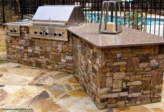Kitchen Contractors, Custom Pools, Pool Builders, Atlanta, Patio, Mansions, House Styles, Outdoor Decor, Home Decor