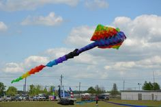 WoW! Now that's a kite! #louisiana #westbatonrouge #portallen #kitefest #kite