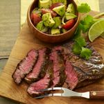 Tequila Lime Steak with Avocado Chopped Salad from @Albertsons