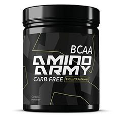 ★ BCAA Powder 25 servings ( Citrus / Elderflower ) ★ 6000 mg BCAA + 1000 mg Glutamine + 3000 mg Alanin, Lysine, Glycine ★ Total 10,000 mg amino acids per serving ★ Great for Pre workout & Recovery purposes ★ Supplements