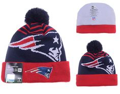 095ff5b9 Mens / Womens New England Patriots New Era 2016 NFL Fashion Navy Logo Whiz Cuffed  Knit