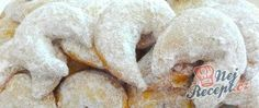 Vanilkové rohlíčky Meat, Chicken, Food, Essen, Meals, Yemek, Eten, Cubs