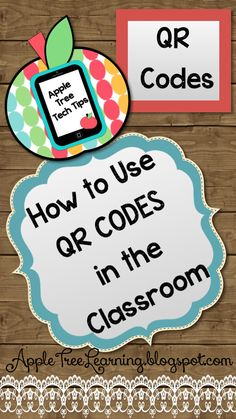 QR CODE TUTORIAL:  Freebie!  Learn how to get started with QR codes and how to generate your very own QR codes! #QR&code #technology #freebie