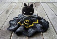 Batman-lovey free crochet pattern