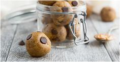 Amazing peanut butter protein balls that taste like peanut butter cup cookie dough! Low carb, no sugar added and naturally gluten free/grain free.