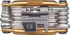 Crank Brothers Multi Bicycle Tool (17-Function, Gold). For product info go to:  https://all4hiking.com/products/crank-brothers-multi-bicycle-tool-17-function-gold/