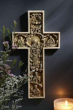 True Church Alabaster Wall Cross – Celebrate Faith