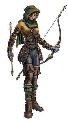 Adam Diller's Portfolio [ archer, female, character]