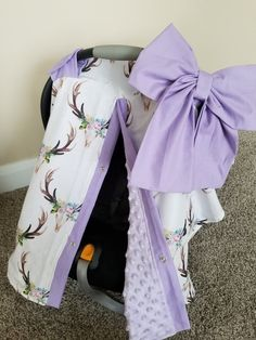 Car seat Canopy Flower Stag Cover with Minky inside carseat canopy car seat cover carseat cover floral car seat Baby Girl Carseat Covers, Baby Girl Car Seats, Baby Doll Car Seat, Diy Upcycled Clothing No Sew, Car Seat Liner, Baby Doll Nursery, Nursery Bedding, Girl Nursery, Camo Baby Stuff
