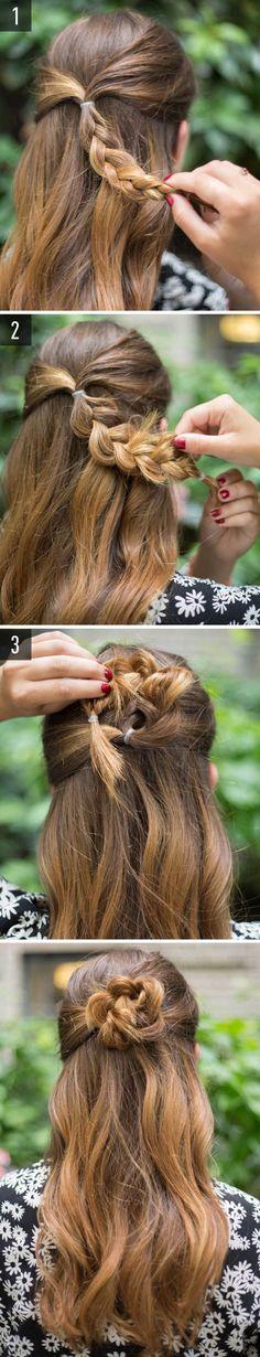 15 acconciature super facili per ragazze pigre