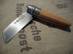 "Opinel #12 Mod ""Stub"" Open 