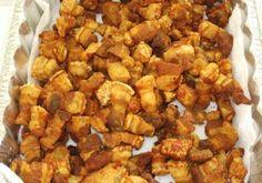 Chicharrones de Puerco (Pork Cracklings)...i love, love, love homemade chicharrones...