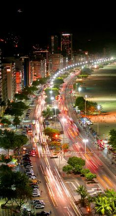 Copacabana is a bairro located in the Zona Sul of the city of Rio de Janeiro, Brazil. It is known for its 4 km balneario beach, which is one of the most famous in the world. Rio de Janeiro, one of the most beautiful cities in America. Copacabana Beach, Places To Travel, Places To See, Places Around The World, Around The Worlds, Brazil Carnival, Photo Vintage, Belle Villa, Fortaleza