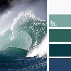 Color Palette No. 1990 - In Color balance Palettes Color, Colour Pallette, Colour Schemes, Color Combos, Color Patterns, Paint Schemes, Design Seeds, Color Concept, Photo Bleu