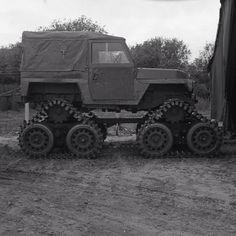 Land Rover belonging to the RAF EOD (Explosive Ordnance Disposal) unit