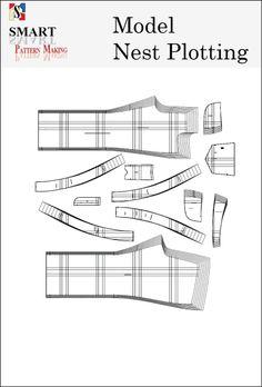 Model Nest Pattern Plotting Services - smart pattern making