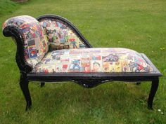 Comic chairs for our bedroom by elou87 @eBay