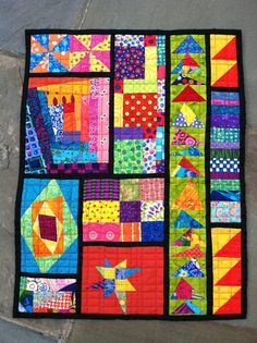 this would be a great class for Quilting Techniques or just leftovers Love it