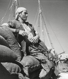 Dockworker, Heraklion, Creta , 1937 by Herbert List