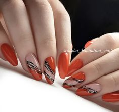 Exquisite manicure design makes life colorful - Page 45 of 111 - Inspiration Diary Love Nails, Red Nails, Pretty Nails, Hair And Nails, Elegant Nail Designs, Nail Art Designs, Nail Techniques, Magic Nails, Rhinestone Nails