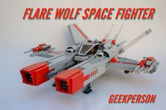 LEGO Ideas - Flare Wolf Space Fighter