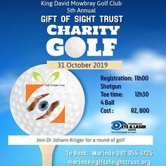 Are you joining me 31 Oct 2019 for a round of Golf?
