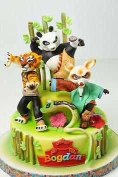 Torturi - Viorica's cakes: Kung Fu Panda pentru Bogdan