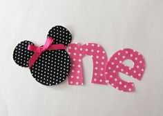 Minnie Mouse One - could do this for 2