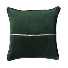 Part of the Reverie collection, Elwyn is plush, soft and luxurious. Featuring exposed brass zip detail, this velvet cushion will add instant luxe to any space.      Plain velvet reverse.    Size: 50x50cm and comes filled.
