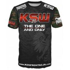 """Phantom MMA Shirt """"EVO - KSW 26"""" - Schwarz/Camo"""